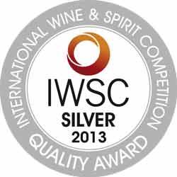 IWSC2013-Silver-Medal Award whiskyandcognac.de