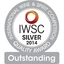 IWSC2014 Silver Outstanding Medal Award whiskyandcognac.de