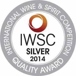 IWSC2014 Silver Medal Award whiskyandcognac.de