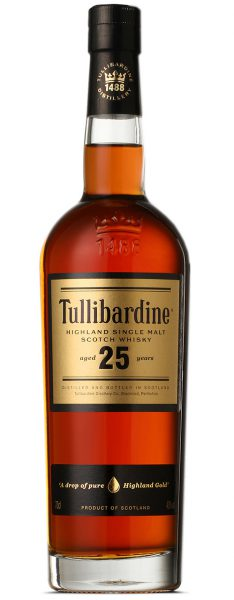 Tullibardine 25 Years Old Whisky whiskyandcognac.de