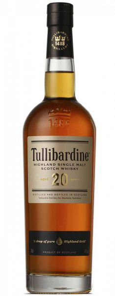 Tullibardine 20 Years Old Whisky whiskyandcognac.de