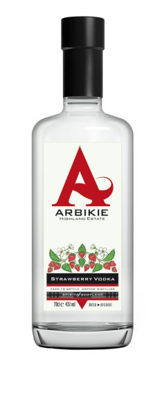 Arbikie Highland Estate Scottish Vodka Strawberry Vodka